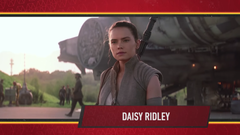 Star Wars Episode IX Official Cast Announcement - Daisy Ridley