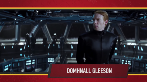 Star Wars Episode IX Official Cast Announcement - Domhnall Gleeson