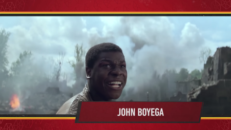 Star Wars Episode IX Official Cast Announcement - John Boyega