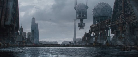 Corellia Environment Blocking - Solo A Star Wars Story Environment Modelling by Andrew Hodgson