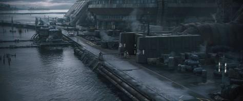 Corellia Environment Blocking - Solo A Star Wars Story Environment Modelling CGI by Andrew Hodgson