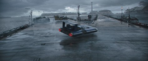 Corellian Starport, Factory Island, Background Vehicle, Roadside Mech - Solo A Star Wars Story Environment Modelling by Andrew Hodgson