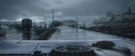 Corellian Starport, Factory Island, Roadside Mech - Solo A Star Wars Story Environment Modelling by Andrew Hodgson