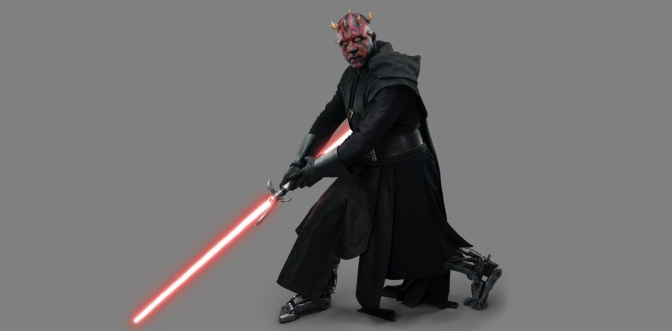 Darth Maul's Robot Legs Revealed