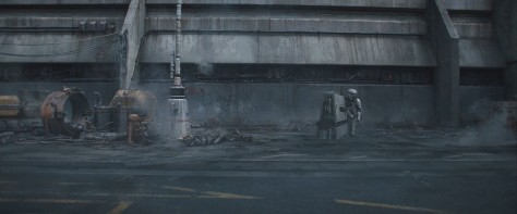 Ground Debris - Solo A Star Wars Story Environment Modelling by Andrew Hodgson