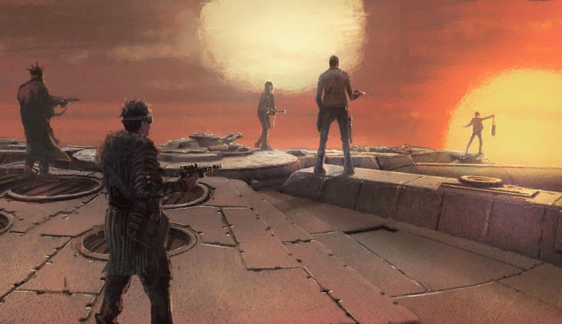 NEW Solo A Star Wars Story Concept Art Release by Lucasfilm