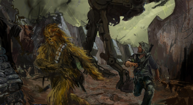 NEW Ultra Resolution Solo A Star Wars Story Concept Art Release by Lucasfilm