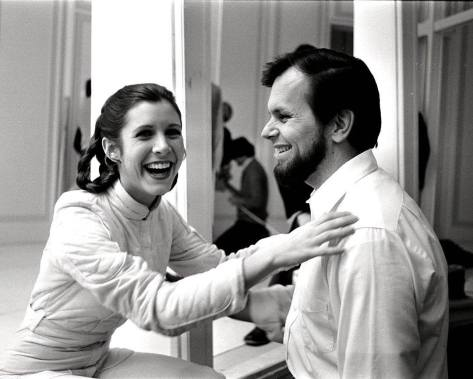 RIP Gary Kurtz 1940 – 2018 Star Wars Producer with Carrie Fisher