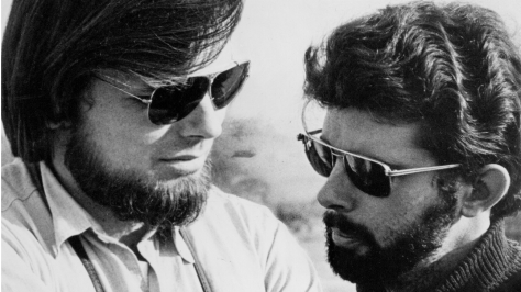 RIP Gary Kurtz 1940 – 2018 with George Lucas on American Grafitti