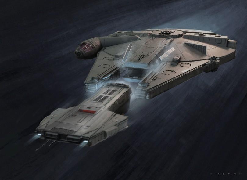 SOLO A Star Wars Story - Lando Falcon Concept Art by Vincent Jenkins