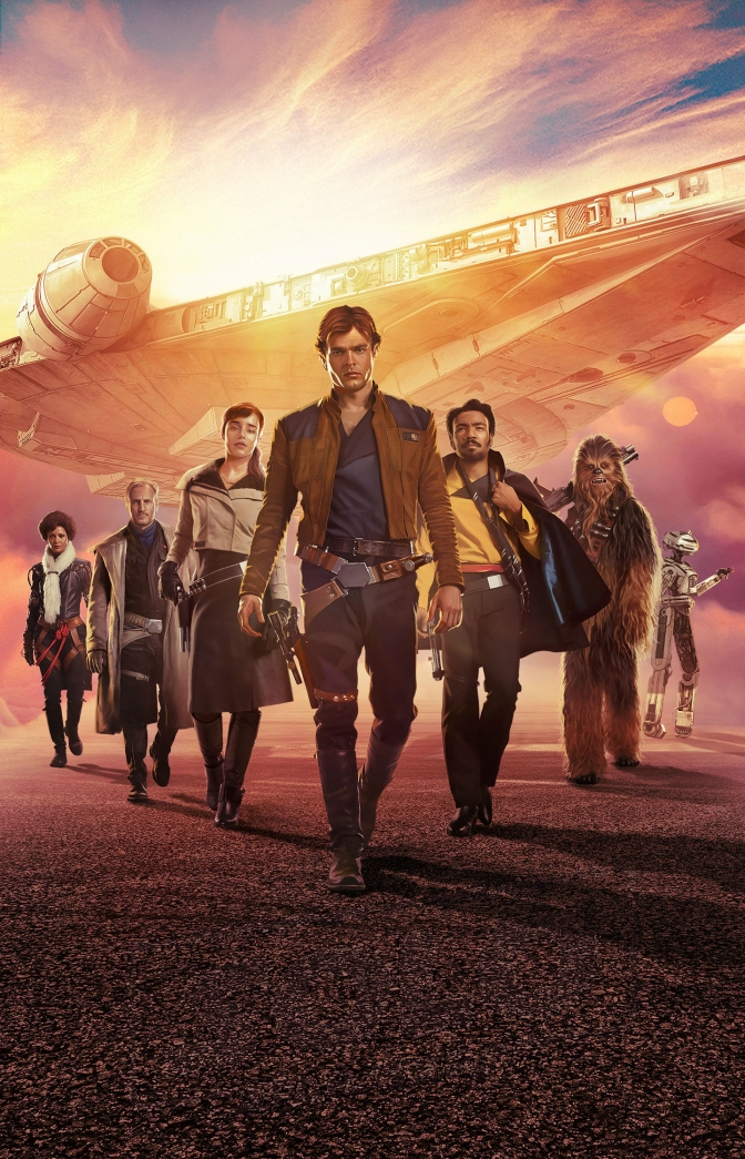 Solo A Star Wars Story 'Textless' DVD – BluRay Cover Art