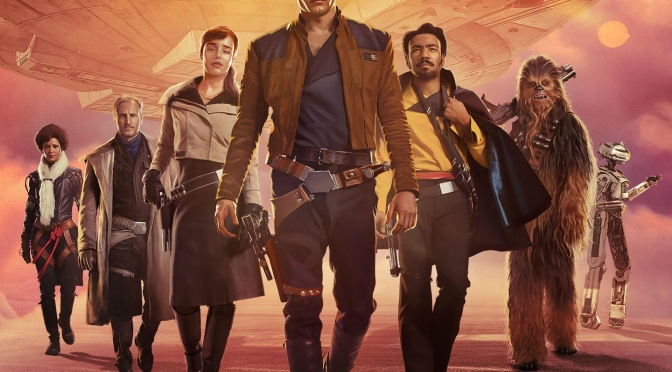 Solo A Star Wars Story Textless DVD - BluRay Cover Art