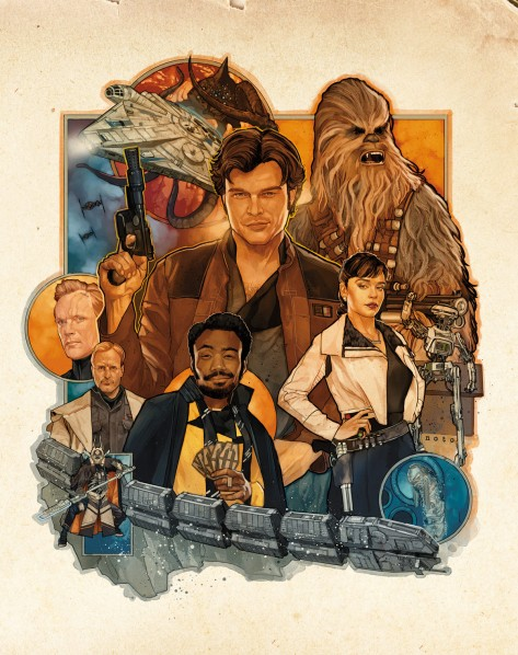 Star Wars Exclusive Solo Cover by Phil Noto