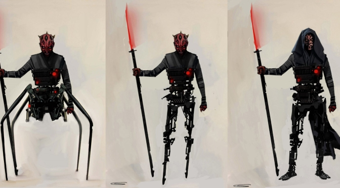 Reimagining Darth Maul for Solo : Star Wars Story
