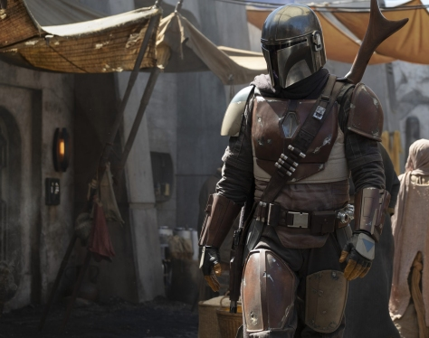 The Mandalorian Star Wars TV Series First Image