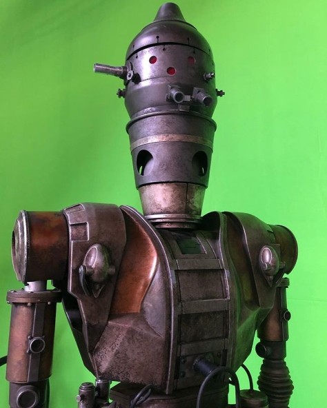 Bounty Hunter IG-88 in Star Wars The Madalorian