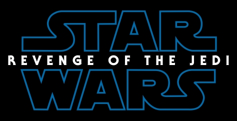 Star Wars Episode IX Revenge of the Jedi Title Logo Hi Resolution HD