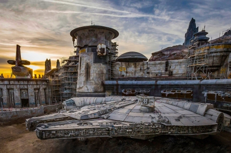 Disney Parks Galaxy's Edge Millennium Falcon Smugglers Run