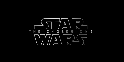 Star Wars Episode IX The Chosen One Title Logo Hi Resolution HD