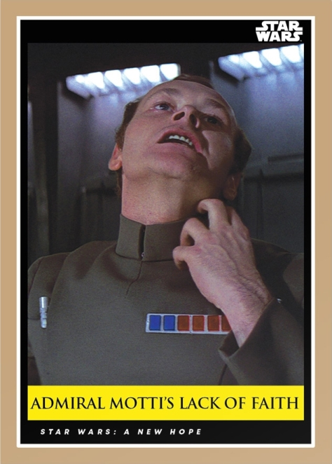 Admiral Motti's Lack of Faith _ Star Wars Galactic Moments Countdown to Episode 9 _ Card 6