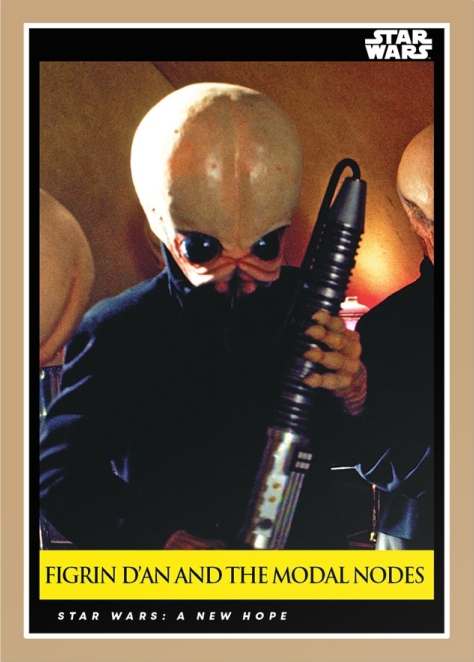 Figrin D'an And The Modal Nodes _ Star Wars Galactic Moments Countdown to Episode 9 _ Card 9