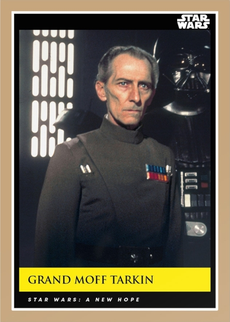 Grand Moth Tarkin _ Star Wars Galactic Moments Countdown to Episode 9 _ Card 4
