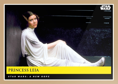 Princess Leia _ Star Wars Galactic Moments Countdown to Episode 9 _ Card 7