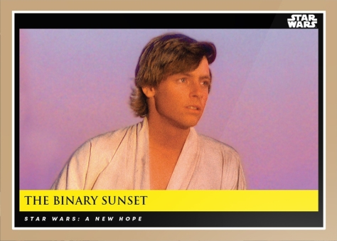 The Binary Sunset _ Star Wars Galactic Moments Countdown to Episode 9 _ Card 8