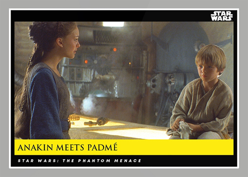 Anakin meets Padme _ Star Wars Galactic Moments Countdown to Episode 9 The Rise of Skywalker_ Week 20 Card 59