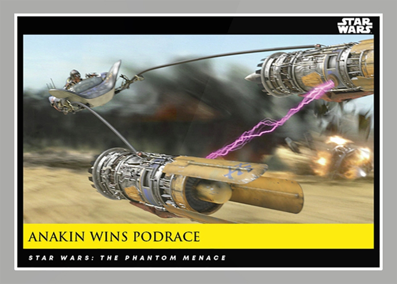 Anakin Wins Podrace _ Star Wars Galactic Moments Countdown to Episode 9 The Rise of Skywalker_ Week 20 Card 60