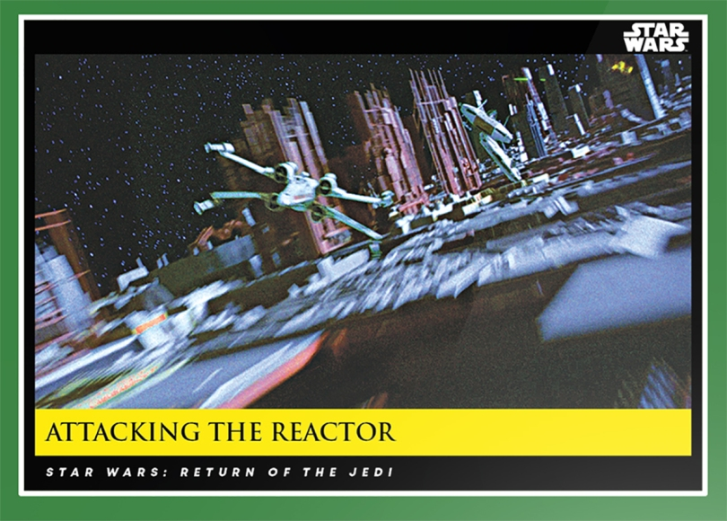 Attacking the Reactor _ Star Wars Galactic Moments Countdown to Episode 9 The Rise of Skywalker_ Week 18 Card 53