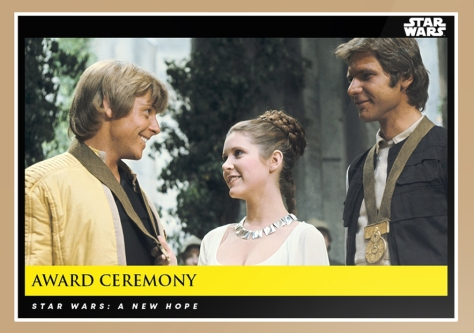 award ceremony _ star wars galactic moments countdown to episode 9 _ week 6 card 18