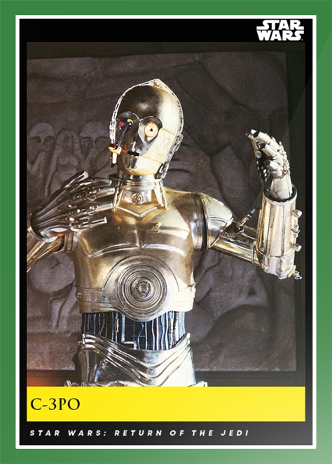 C-3PO _ Star Wars Galactic Moments Countdown to Episode 9 The Rise of Skywalker_ Week 14 Card 40
