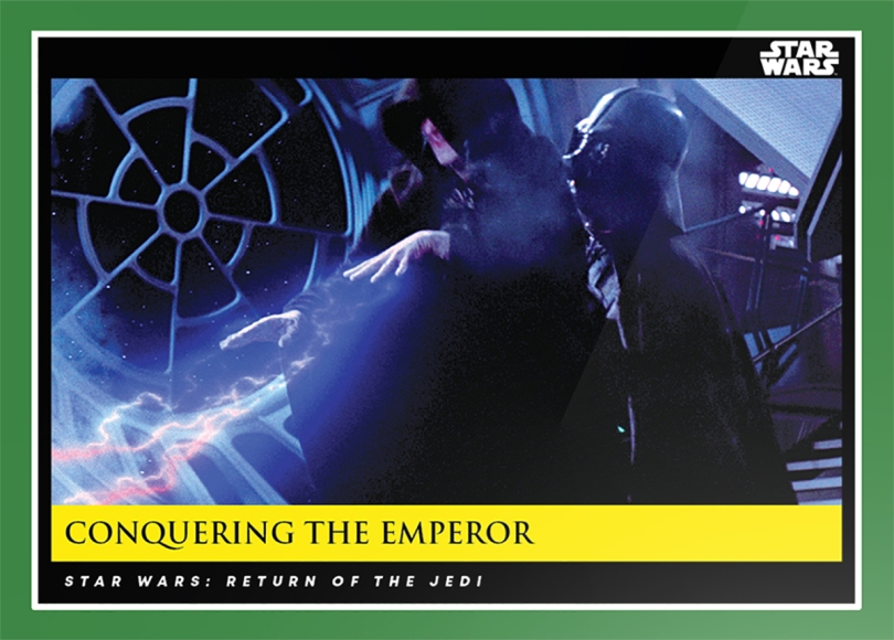 Conquering the Emperor _ Star Wars Galactic Moments Countdown to Episode 9 The Rise of Skywalker_ Week 17 Card 51