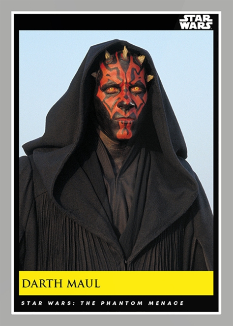 Darth Maul _ Star Wars Galactic Moments Countdown to Episode 9 The Rise of Skywalker_ Week 20 Card 58