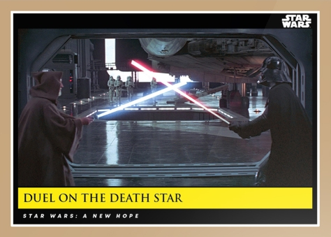 duel on the death star _ star wars galactic moments countdown to episode 9 _ week 5 card 15