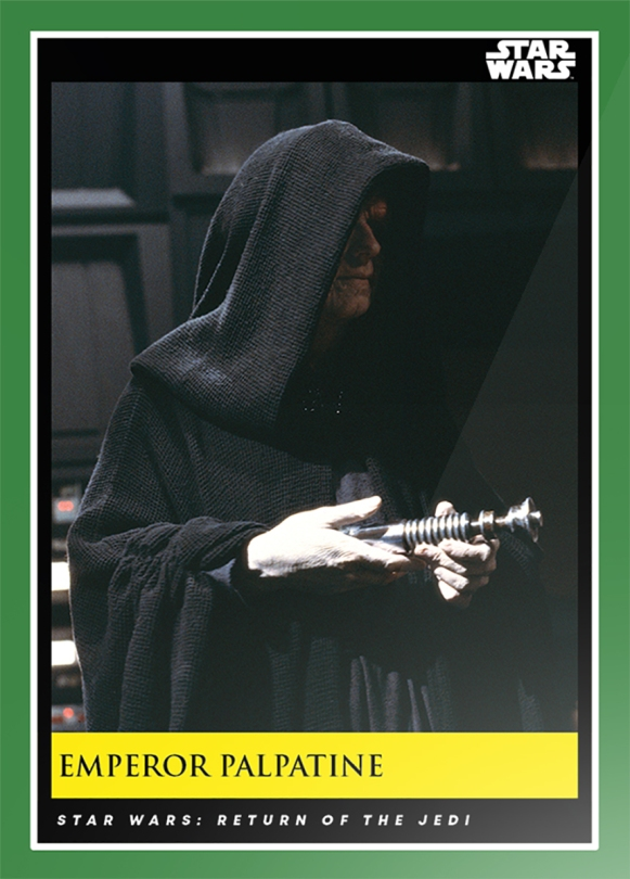 Emperor Palpatine _ Star Wars Galactic Moments Countdown to Episode 9 The Rise of Skywalker_ Week 15 Card 43