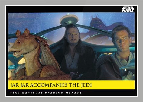 Jar Jar Accompanies the Jedi _ Star Wars Galactic Moments Countdown to Episode 9 The Rise of Skywalker_ Week 19 Card 57