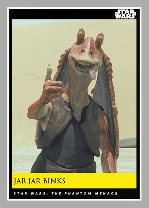 Jar Jar Binks _ Star Wars Galactic Moments Countdown to Episode 9 The Rise of Skywalker_ Week 21 Card 61
