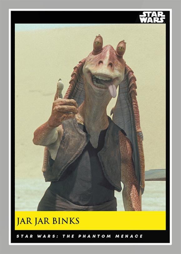 Jar Jar Binks _ Star Wars Galactic Moments Countdown to Episode 9 The Rise of Skywalker_ Week 21 Card 61