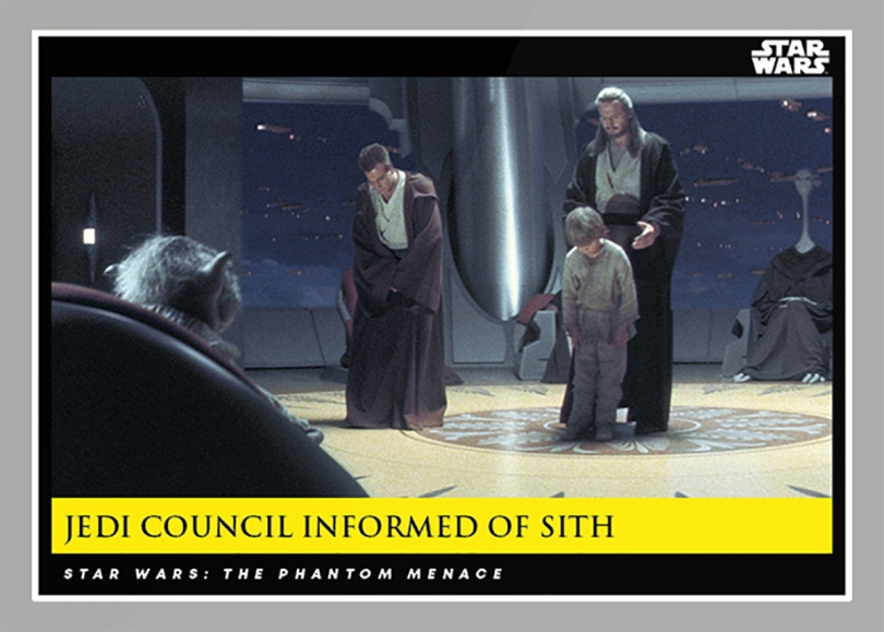 Jedi Council Informed of Sith _ Star Wars Galactic Moments Countdown to Episode 9 The Rise of Skywalker_ Week 21 Card 63