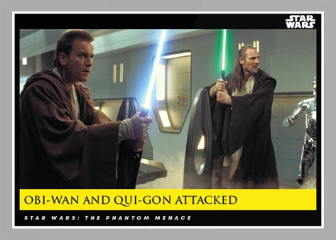 Obi-Wan and Qui-Gon Attacked _ Star Wars Galactic Moments Countdown to Episode 9 The Rise of Skywalker_ Week 19 Card 56
