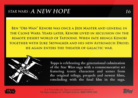 obi wan kenobi _ star wars galactic moments countdown to episode 9 _ week 6 card 16 back