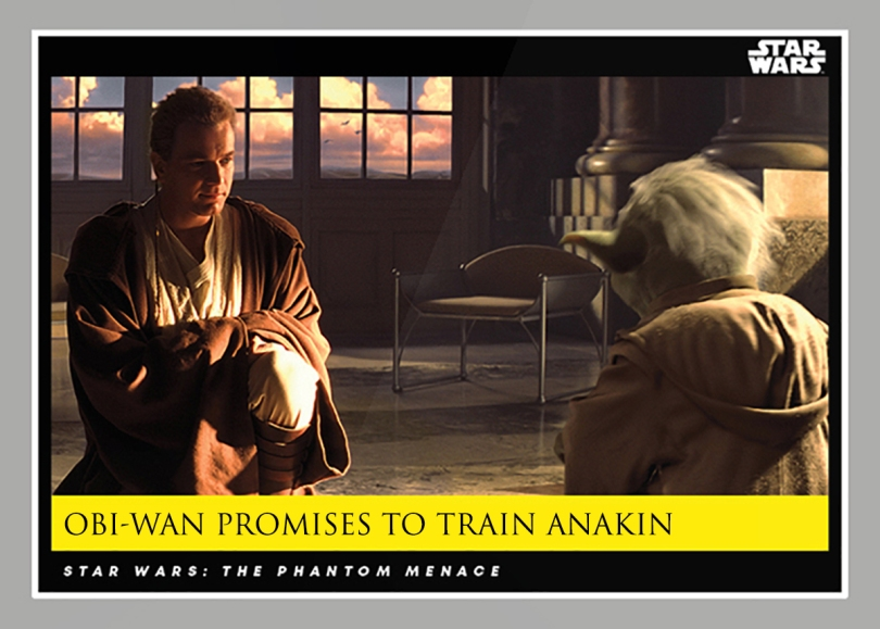 Obi-Wan Promises to Train Anakin _ Star Wars Galactic Moments Countdown to Episode 9 The Rise of Skywalker_ Week 23 Card 69