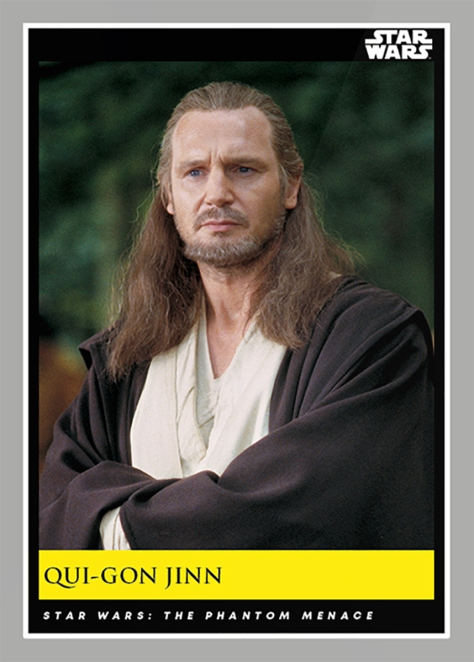 Qui-Gon Jinn _ Star Wars Galactic Moments Countdown to Episode 9 The Rise of Skywalker_ Week 19 Card 55