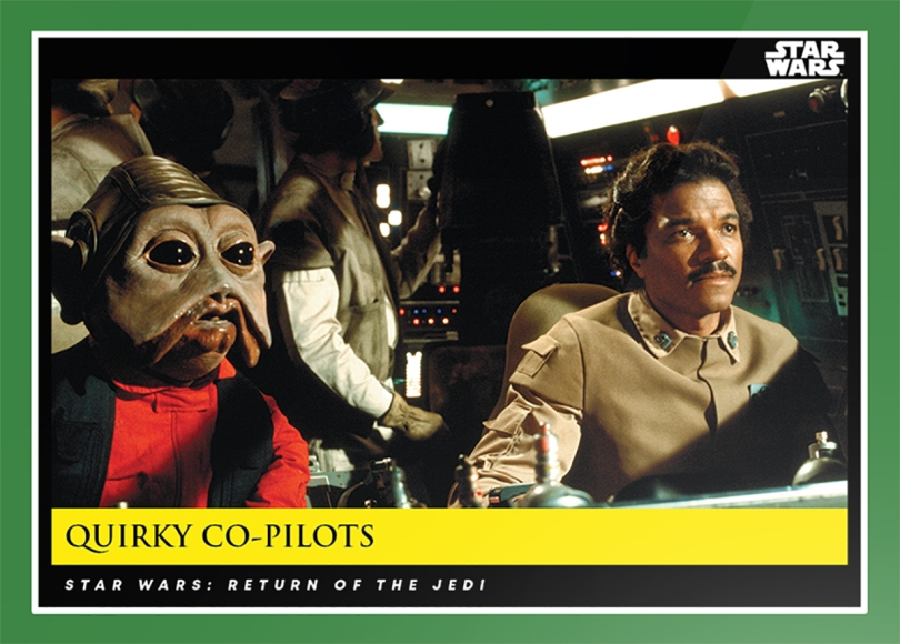 Quirky Co-Pilots _ Star Wars Galactic Moments Countdown to Episode 9 The Rise of Skywalker_ Week 16 Card 48