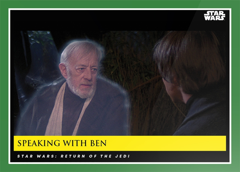Speaking with Ben _ Star Wars Galactic Moments Countdown to Episode 9 The Rise of Skywalker_ Week 14 Card 42