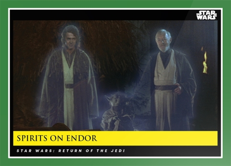 Spirits on Endor _ Star Wars Galactic Moments Countdown to Episode 9 The Rise of Skywalker_ Week 18 Card 54
