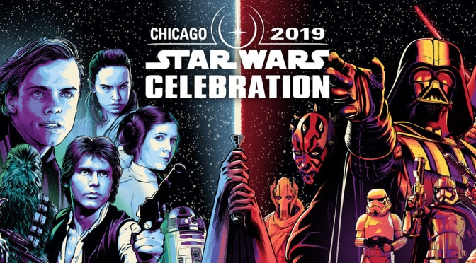 Star Wars Celebration Chicago 2019 Character Banner Art