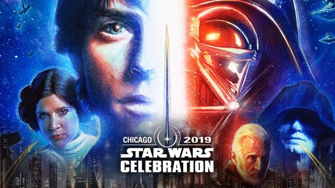 star wars celebration chicago 2019 key poster artwork detail by paul shipper
